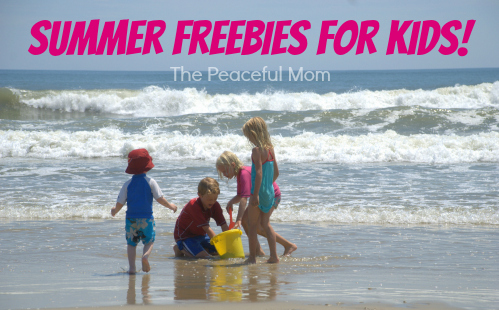 Summer Freebies For Kids The