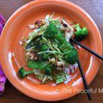 Chicken Stir Fry--The Peaceful Mom