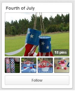 Pinterest Board--Fourth of July