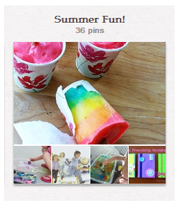 Pinterest Board-Summer Fun