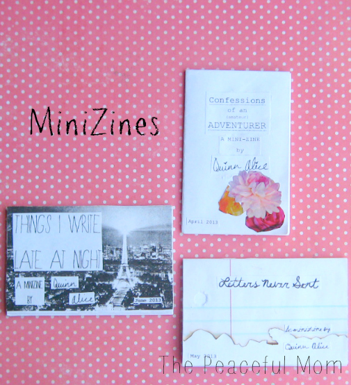 How to Make a MiniZine--Examples--The Peaceful Mom