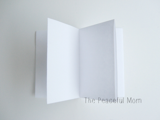 How to Make a MiniZine--Inside View--The Peaceful Mom