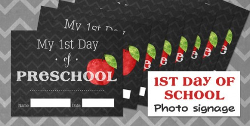 1st day signs