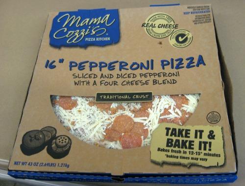 Aldi 16 inch Pizza