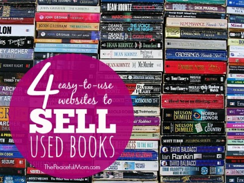 4 Easy to Use Sites to Sell Used Books - The Peaceful Mom
