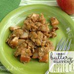 Buttery Gluten Free Apple Crisp - The Peaceful Mom