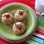 Reindeer Donuts plain--The Peaceful Mom