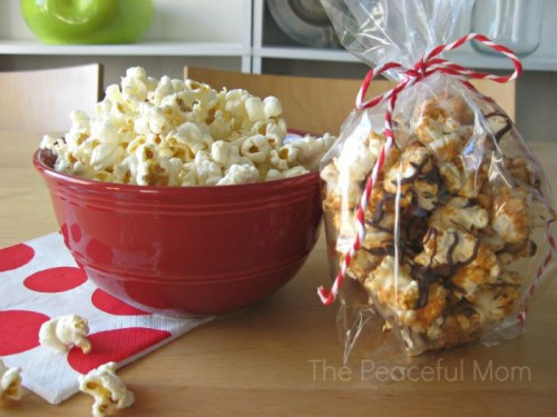 simple DIY gift idea - Gourmet Popcorn
