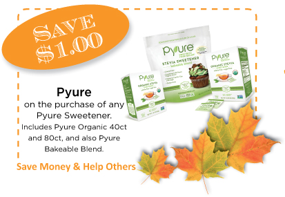Pyure Autumn CommonKindness Coupon