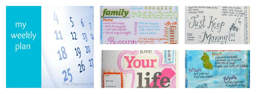 Weekly Plan Collage 2