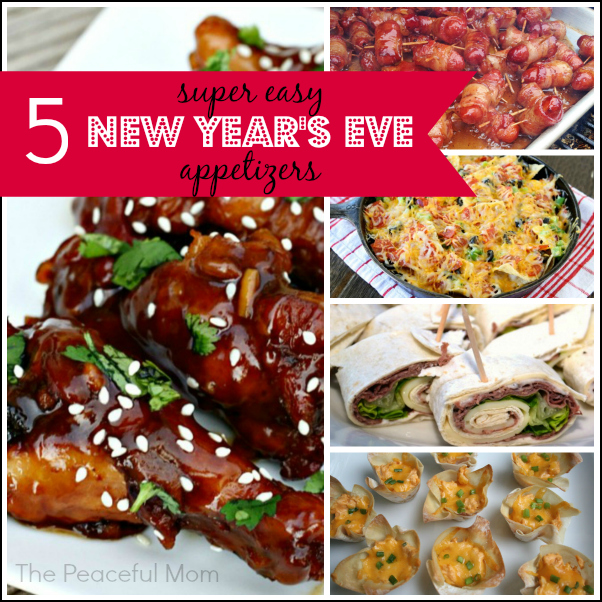 5 Can T Miss Super Easy New Year S Eve Appetizers The Peaceful Mom