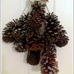 DIY Pine Cone Swag 1 - The Peaceful Mom