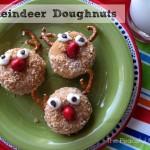 Reindeer Doughnuts