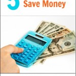 More Money Saving Ideas