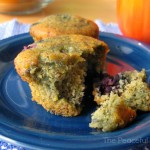 Gluten Free Blueberry Muffin - The Peaceful Mom