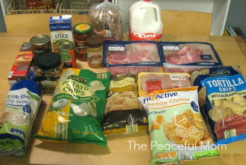 Save Money - Shopping At Aldis Jan 2014 pt. 2 - The Peaceful Mom -