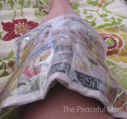 DIY Ice Pack - The Peaceful Mom