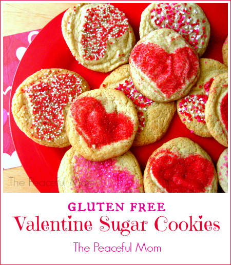 Gluten Free Sugar Cookies - The Peaceful Mom