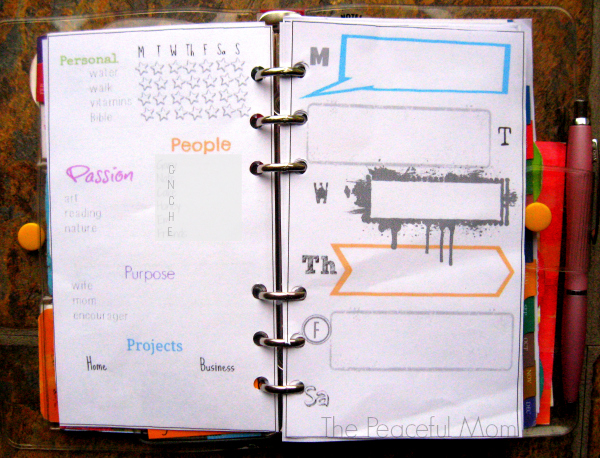 My Personal Planner 2014 - The Peaceful Mom