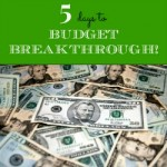 5 Days to Budget Breakthrough