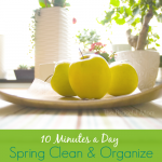 10 Minutes a Day Spring Clean and Organize - The Peaceful Mom - -