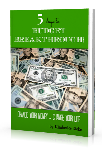 5 Days to Budget Breakthrough from The Peaceful Mom