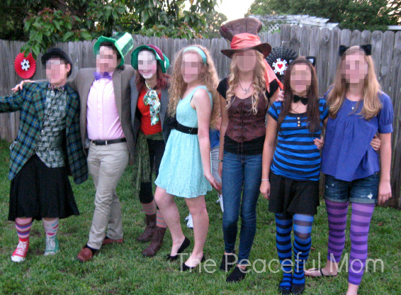 1 Mad Tea Party Costumes - The Peaceful Mom