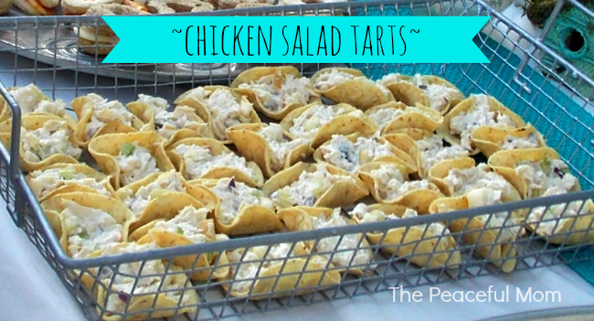 Chicken Salad Tarts - The Peaceful Mom