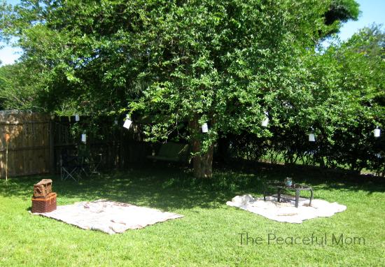 Garden Party Decor - The Peaceful Mom