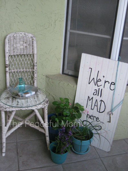 Mad Tea Party Entrance - The Peaceful Mom