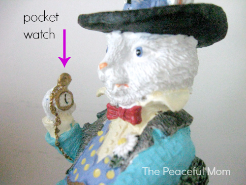 March Hare with Pocket Watch 2 - The Peaceful Mom