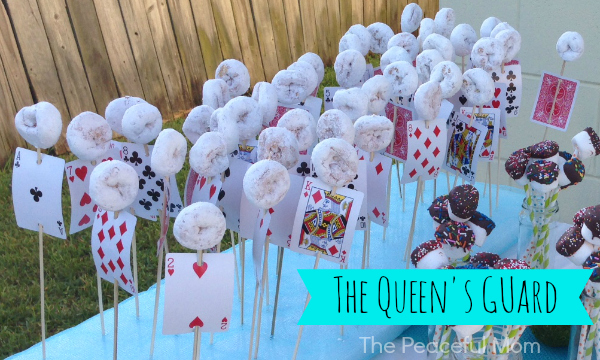 The Queen's Guard Donuts - The Peaceful Mom