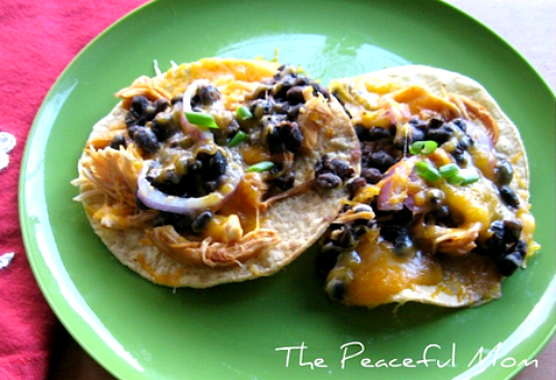 Black Bean Tostadas Recipe - The Peaceful Mom