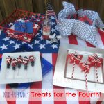 July 4th Food - Kid Friendly Treats from The Peaceful Mom