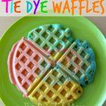Tie Dye Waffles*