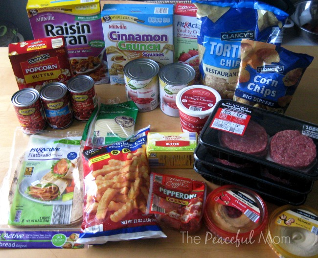 Aldi Groceries 2014 - The Peaceful Mom