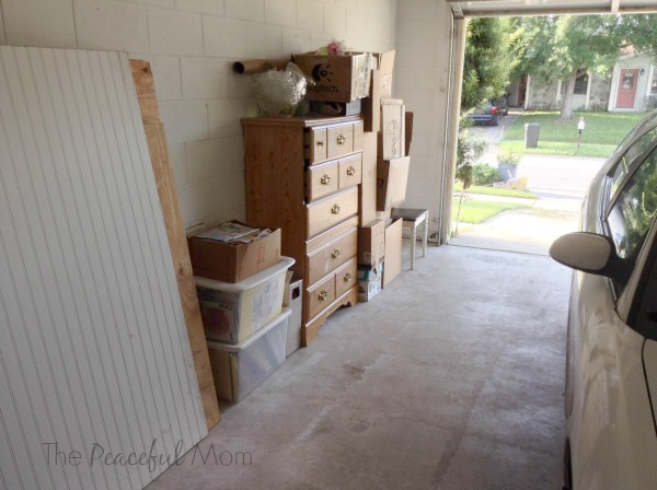 Get Organized - Garage Declutter After - The Peaceful Mom