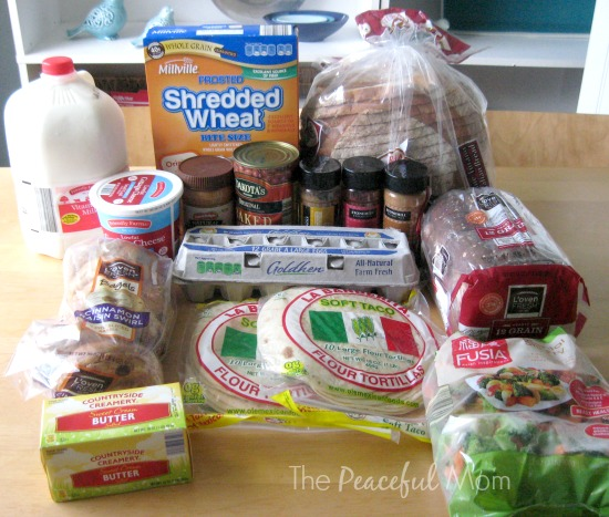 Groceries - Aldi Grocery Items 2014-7-11- The Peaceful Mom