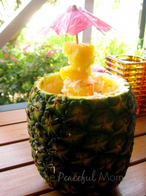 Ultimate Pineapple from Bahama Breeze