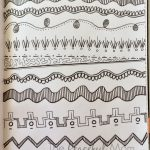 Art Journal Patterns BW 1 July 2014 - The Peaceful Mom