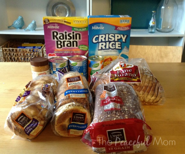 Groceries 2014 -8-1 Aldi Grocery Items - The Peaceful Mom