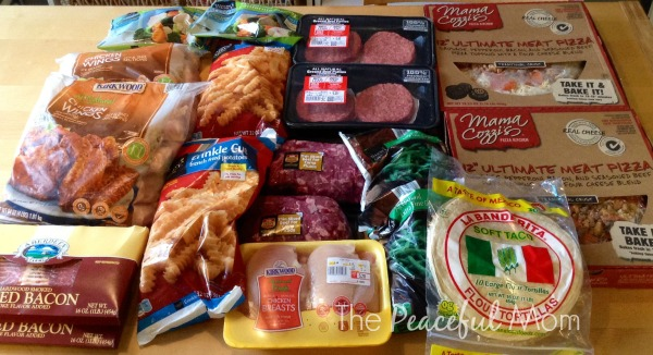 Groceries 2014 -8-1 Aldi Meat and Frozen 2- The Peaceful Mom