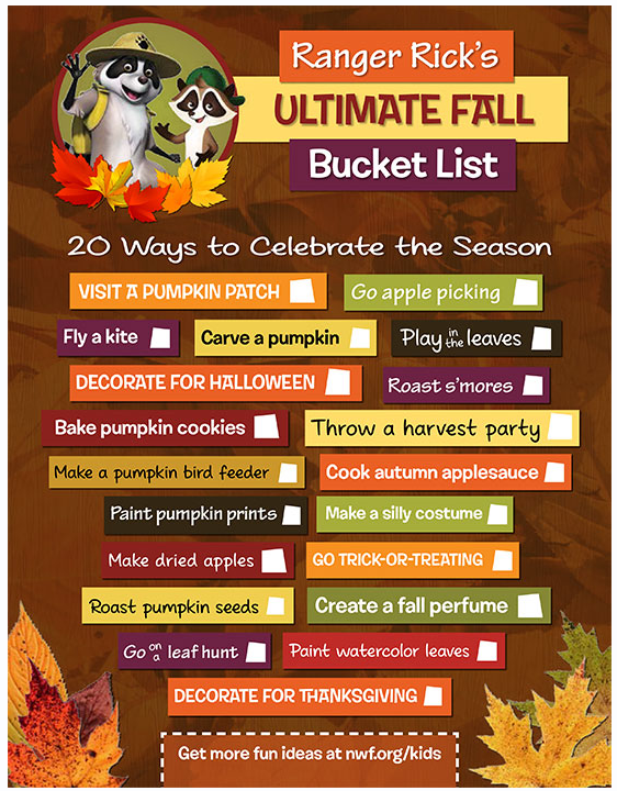 1 11 Fall Bucket List Printable