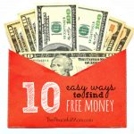 10 Easy Ways to Find Free Money -  The Peaceful Mom