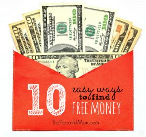10-Easy-Ways-to-Find-Free-Money-The-Peaceful-Mom