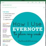 How to Use Evernote to Plan