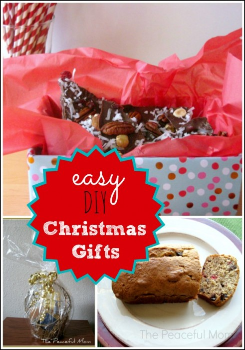 Easy DIY Christmas Gifts on a Budget - from The Peaceful Mom