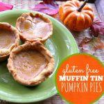 Slider 2- Gluten Free Muffin Tin Pumpkin Pies -- The Peaceful Mom