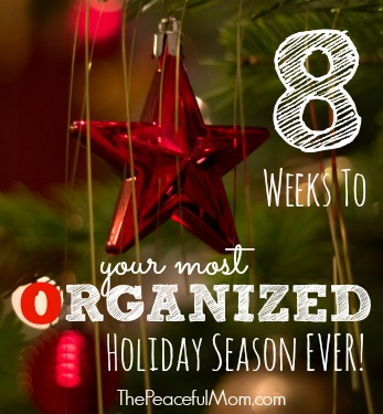 8 Weeks to Your Most Organized Holidays Ever!