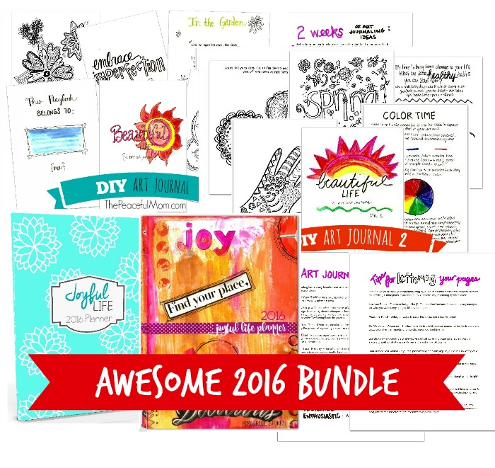 Awesome 2016 Bundle -- from The Peaceful Mom